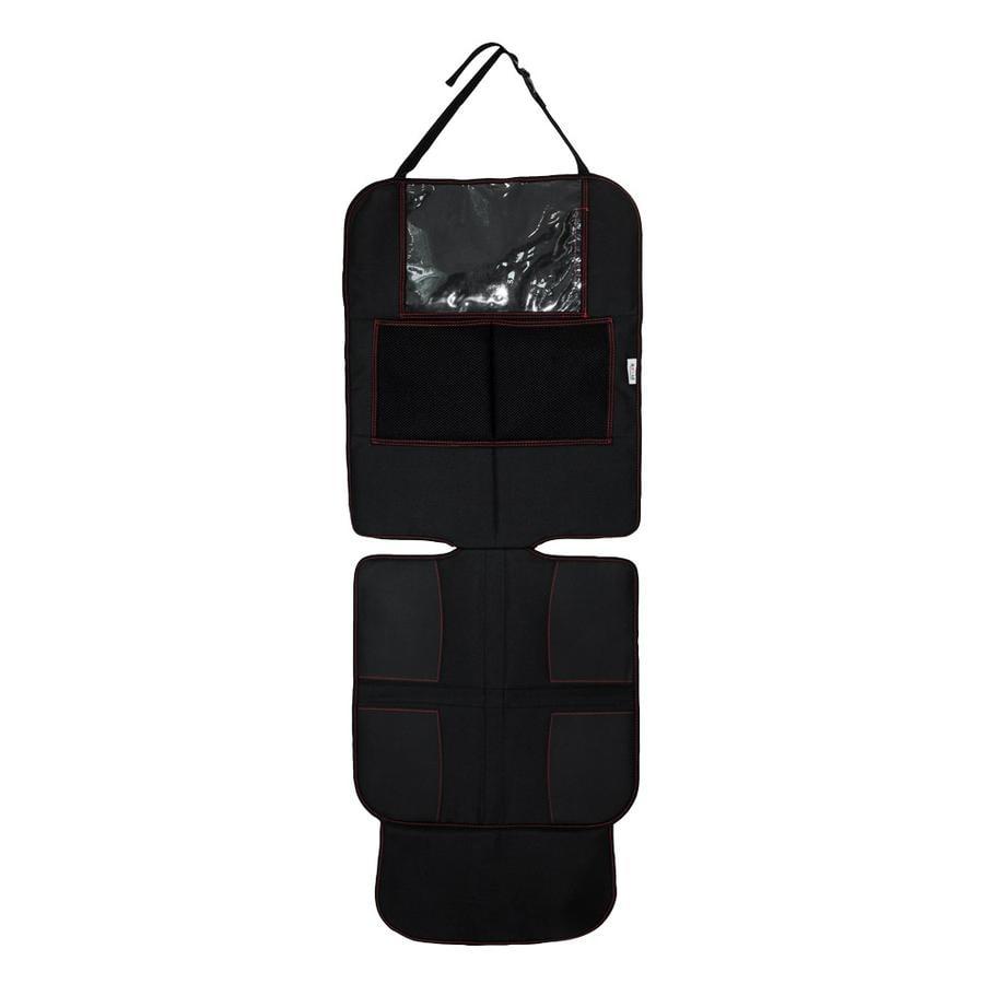 Axkid Autostoelbeschermer Deluxe, zwart