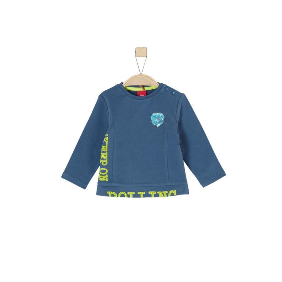 s.Oliver Boys Sweat-shirt bleu