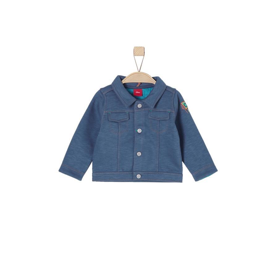 s.Oliver Boys Veste de survêtement bleu