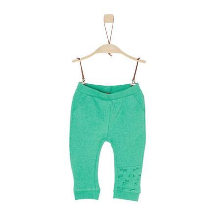 s.Oliver Boys Sweathose green melange
