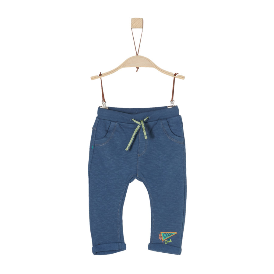 s.Oliver Boys Sweatbroek blauw