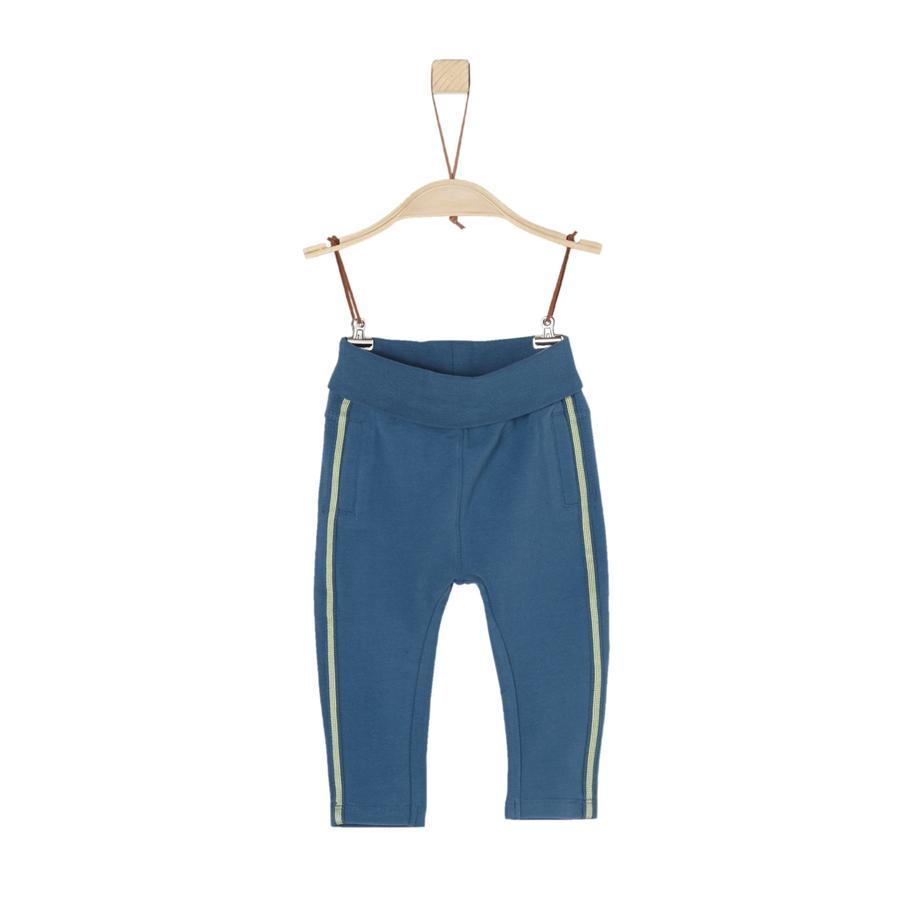 s.Oliver Boys Pantalon de survêtement bleu