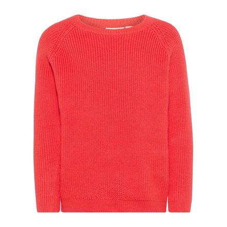NAME IT tyttöjen Sweater Nmfgihalli hibiscus