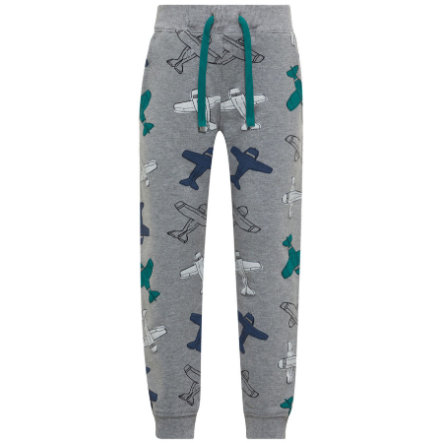 name it Boys Pantalon de survêtement Nmmgikko gris mélangé