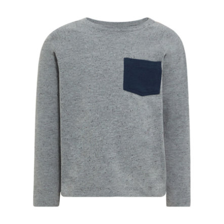 Name It, Langærmet trøje, Nmmgister Grey Melange