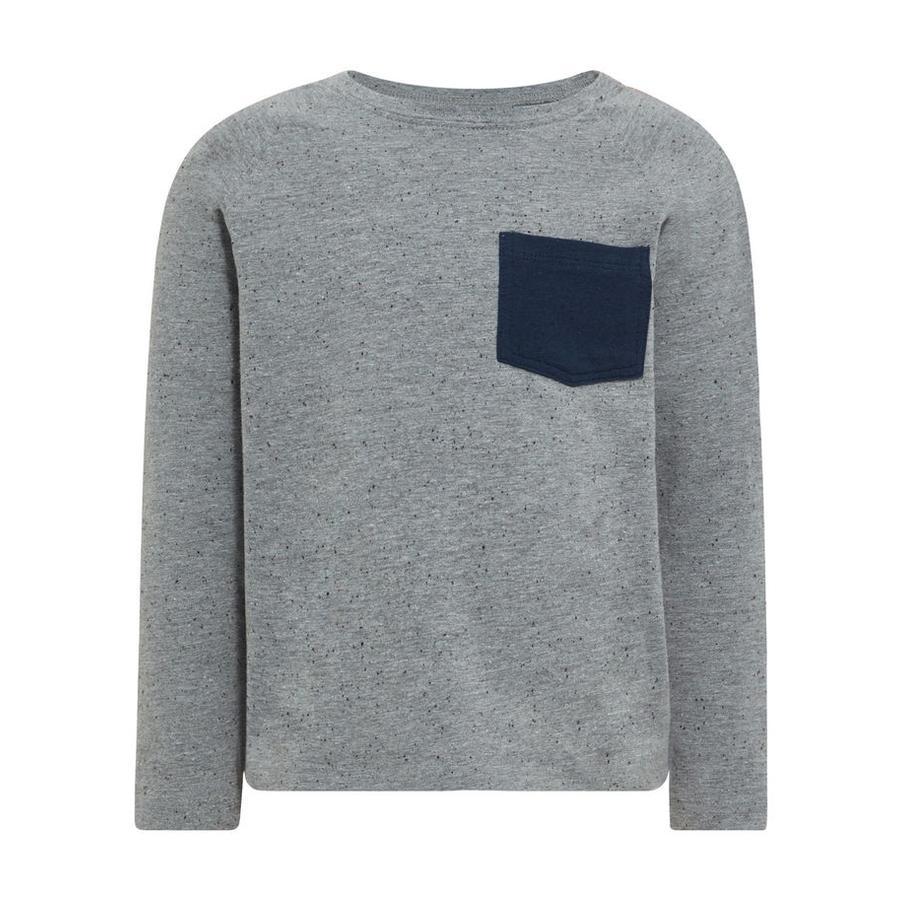 NAME IT Poikien pitkähihainen paita Nmmgister grey melange