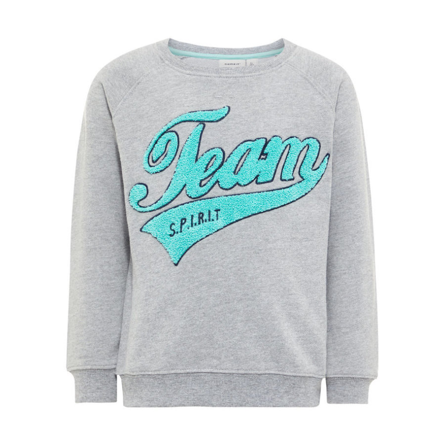 name it Boys Sweatshirt Nmmdarius grey melange