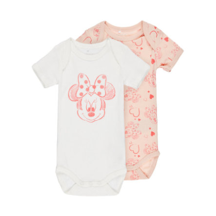 name it Girls Body Minnie 2er-Pack peachy keen