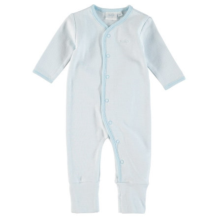 Feetje Schlafanzug Ringel blue