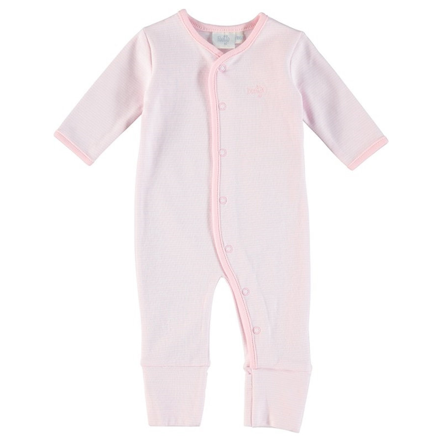 Feetje pyžamo proužkované růžové
