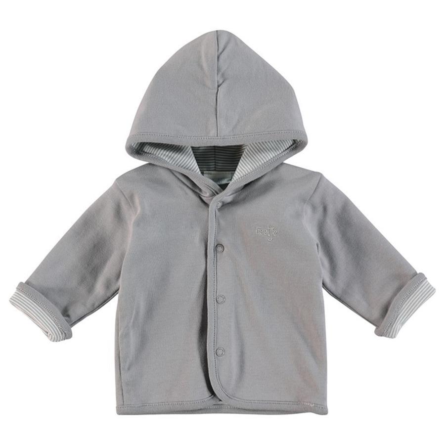 Feetje dětská oboustranná bunda šedivá