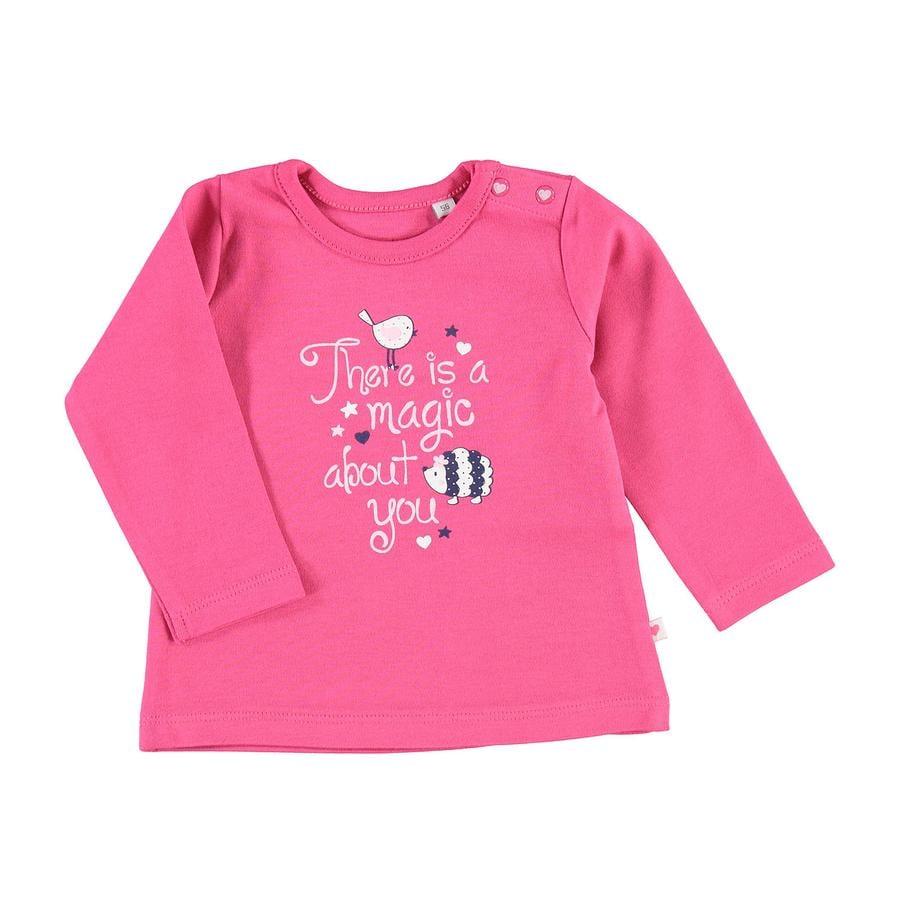 SALT AND PEPPER Koszula z długim rękawem Happy Print Różowy kolor różowy