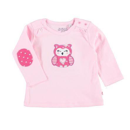 SALT AND PEPPER Girl s camisa manga larga owl owl pink