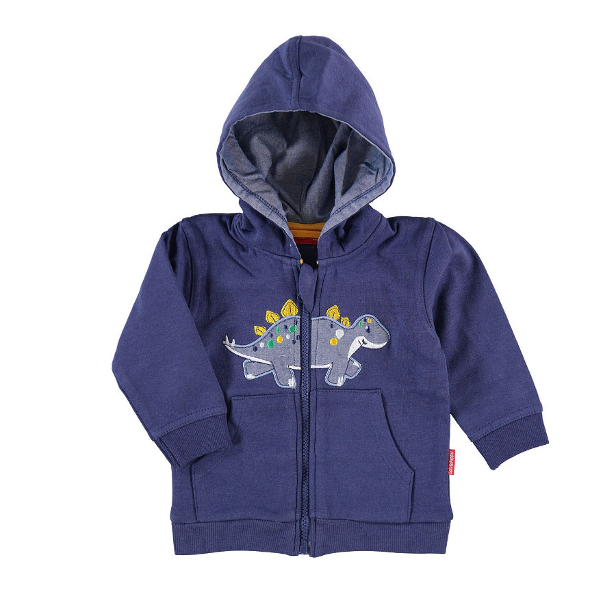 SALT AND PEPPER Boys Sweatjacke Dino ink blue
