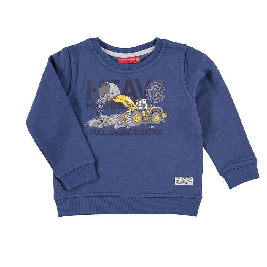SALT AND PEPPER Boys Sweatshirt Enorme machine print nordic blauw
