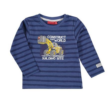 SALT AND PEPPER Boys Langarmshirt Huge Machine stripe nordic blue