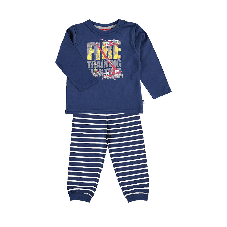 SALT AND PEPPER Pyjama Feuerwehr print