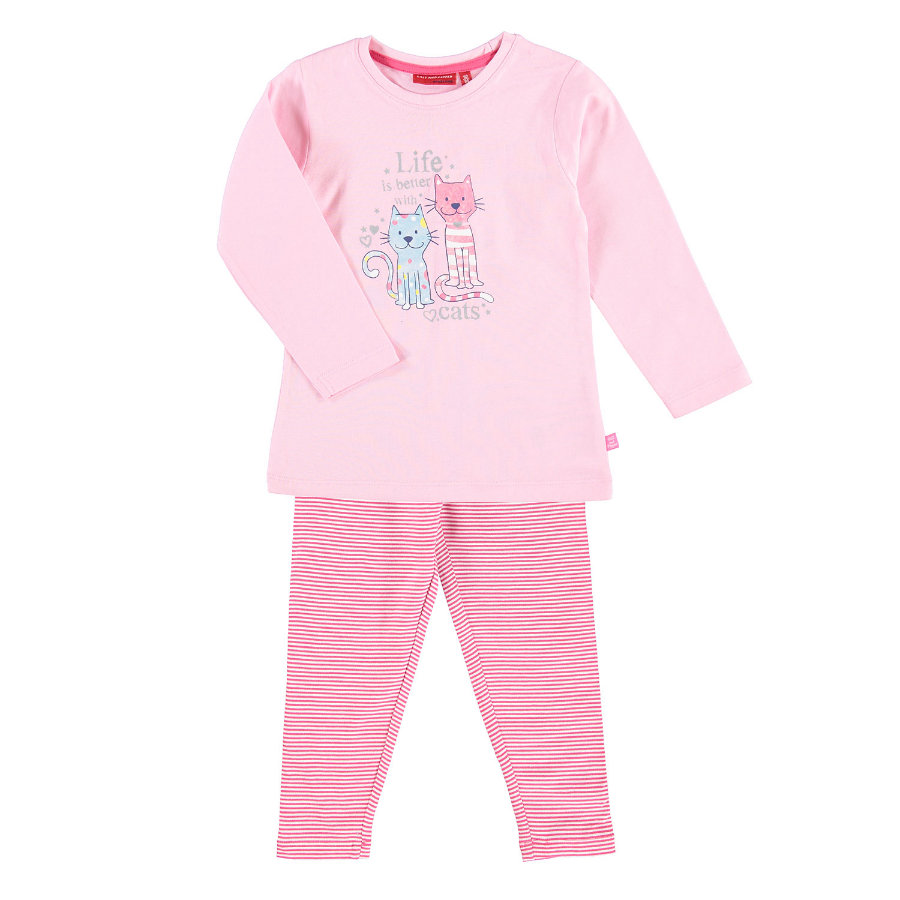 SALT AND PEPPER Pyjama Cats powder rosa