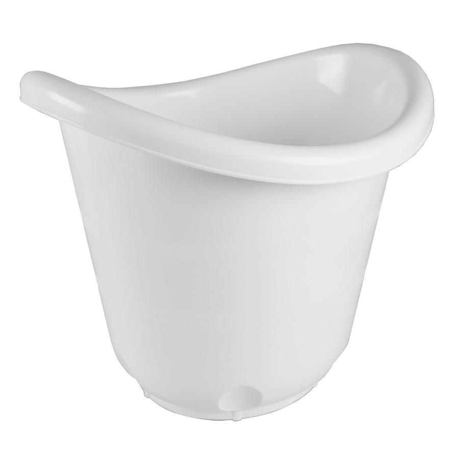 bieco Cubo de baño blanco