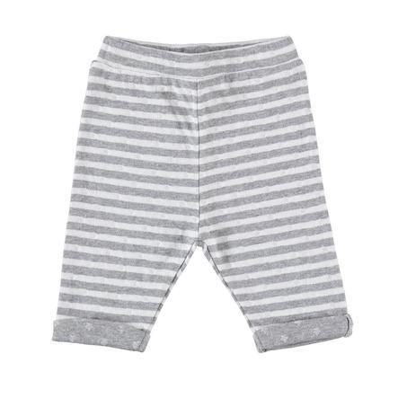 STACCATO Spodnie z potu w paski w kolorze białym.
