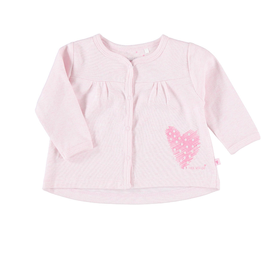 STACCATO Girls Sweatjacke rosa melange
