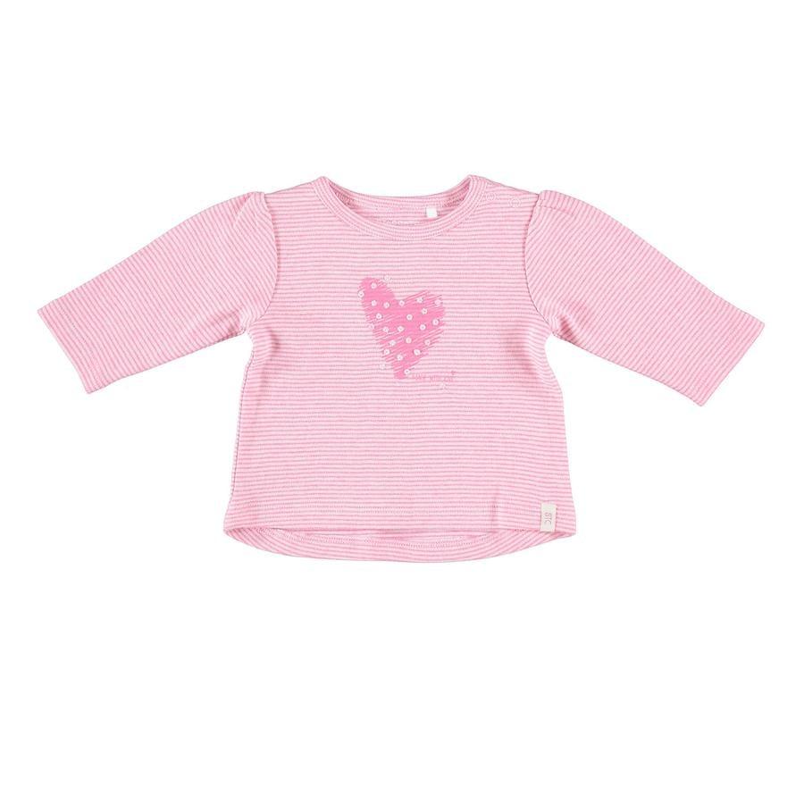 STACCATO Girl s camisa de manga larga rosa mélange