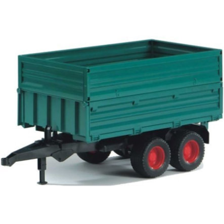 BRUDER® Tandem-Axle Trailer with Removeable Top 02010