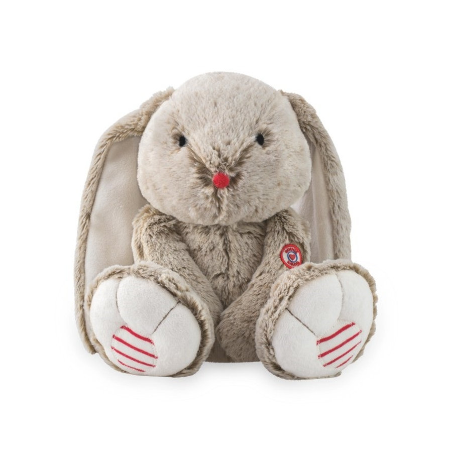 KALOO Peluche Lapin Rouge, large, sable, 38 cm