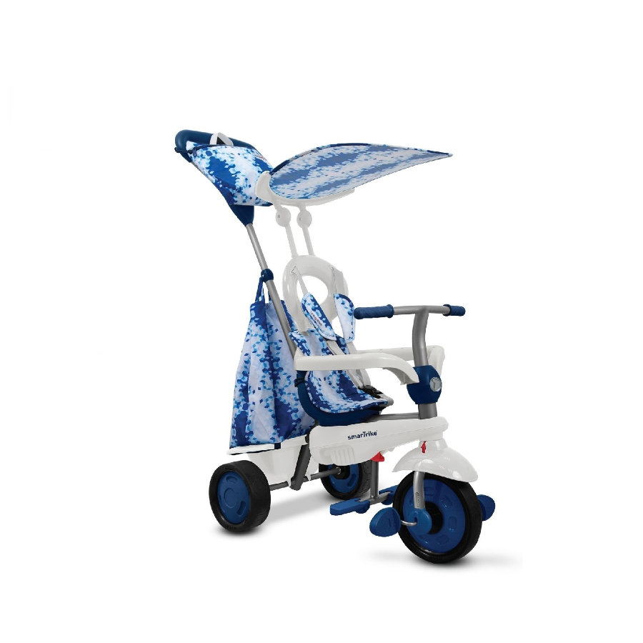 smarTrike® Spirit Touch Steering® 4-in-1 Driewieler, blauw
