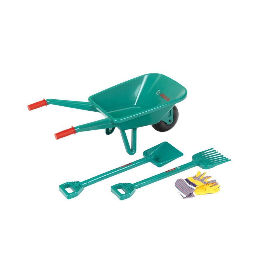 KLEIN BOSCH Set  da giardinaggio giocattolo con carriola