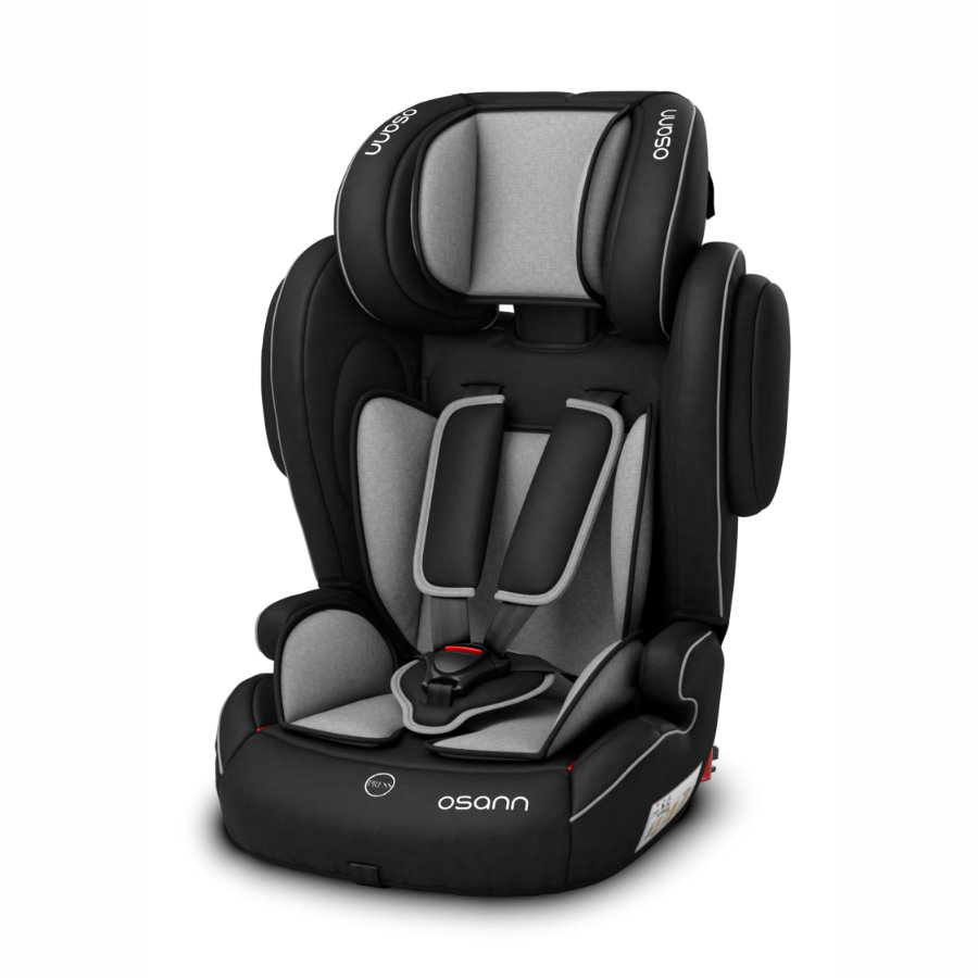 osann kindersitz flux isofix grey melange. Black Bedroom Furniture Sets. Home Design Ideas