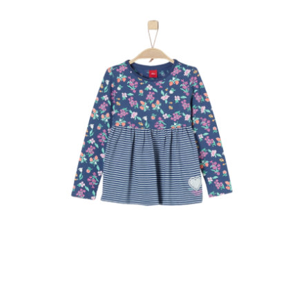 s.Oliver Girl s chemise à manches longues bleu