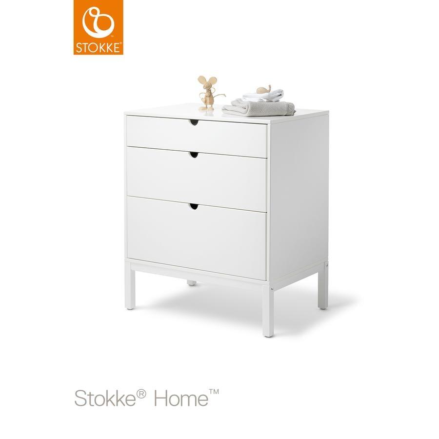 stokke home dresser kommode wei. Black Bedroom Furniture Sets. Home Design Ideas