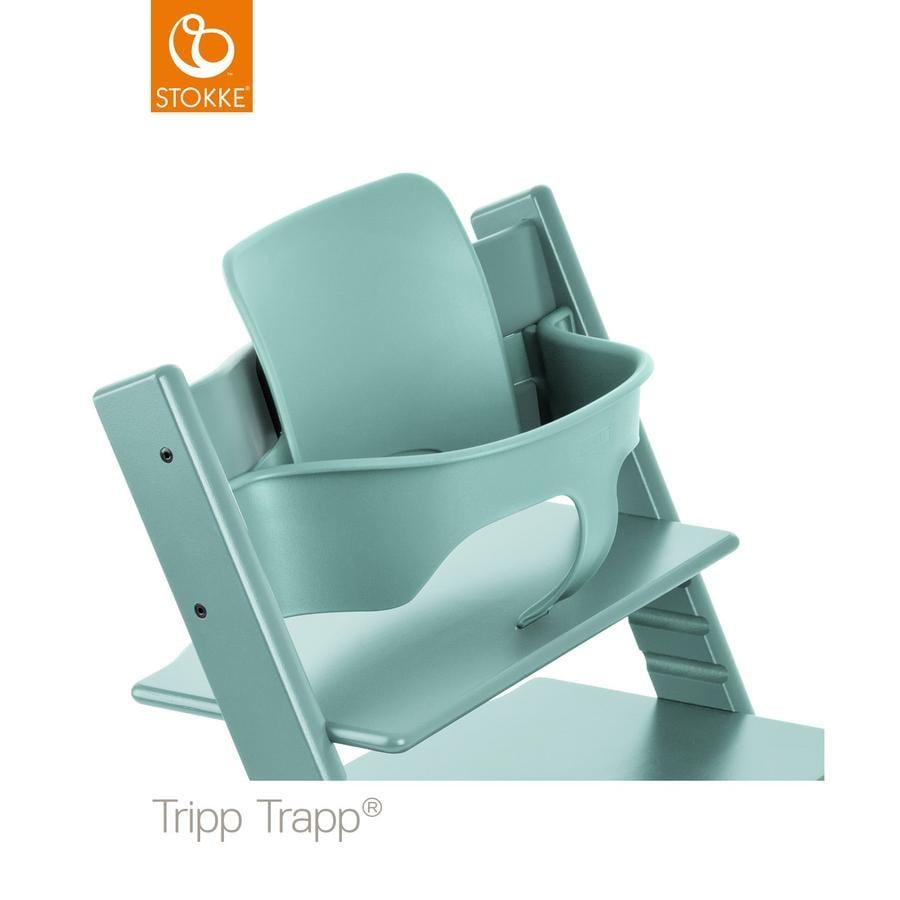stokke tripp trapp baby set aqua blue. Black Bedroom Furniture Sets. Home Design Ideas