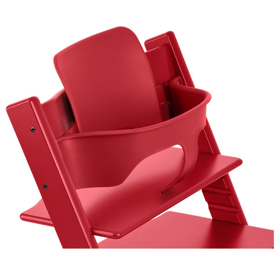 stokke tripp trapp baby set rot. Black Bedroom Furniture Sets. Home Design Ideas