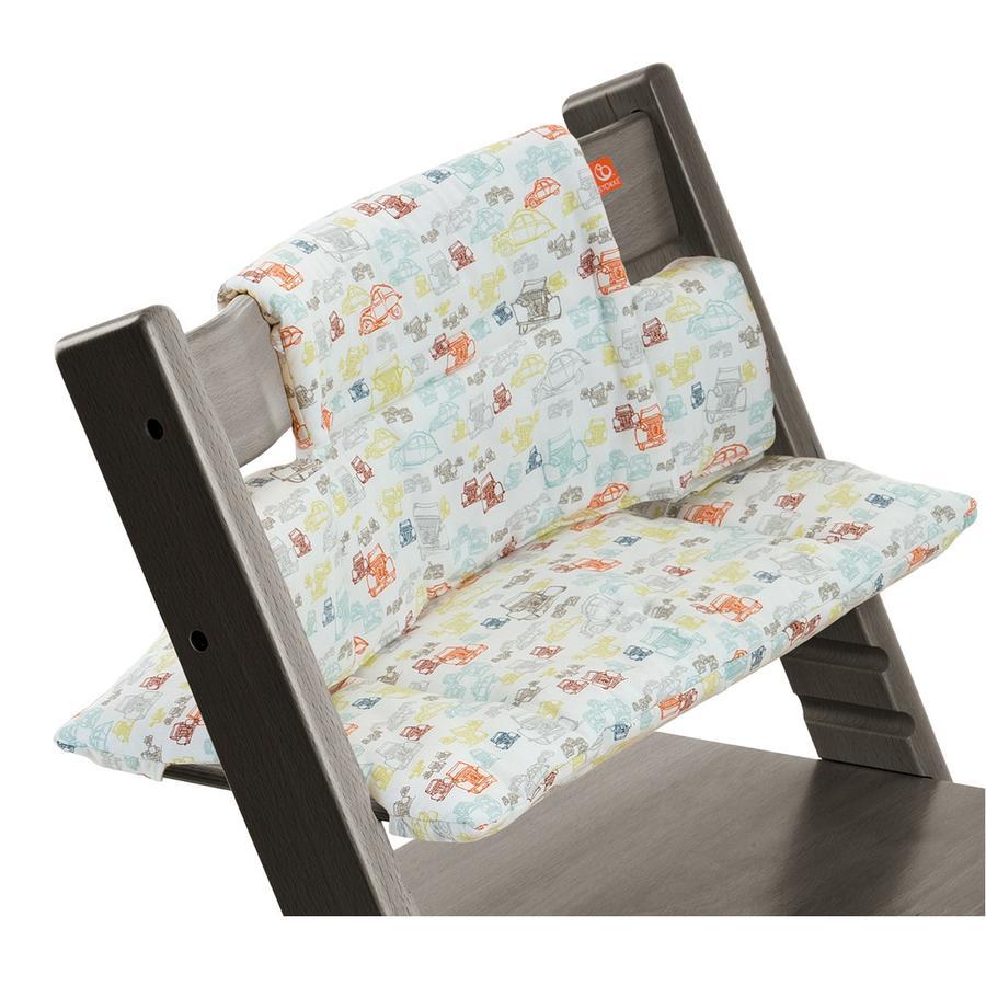 STOKKE® Tripp Trapp® Classic Baby Sitzkissen Cars beschichtet
