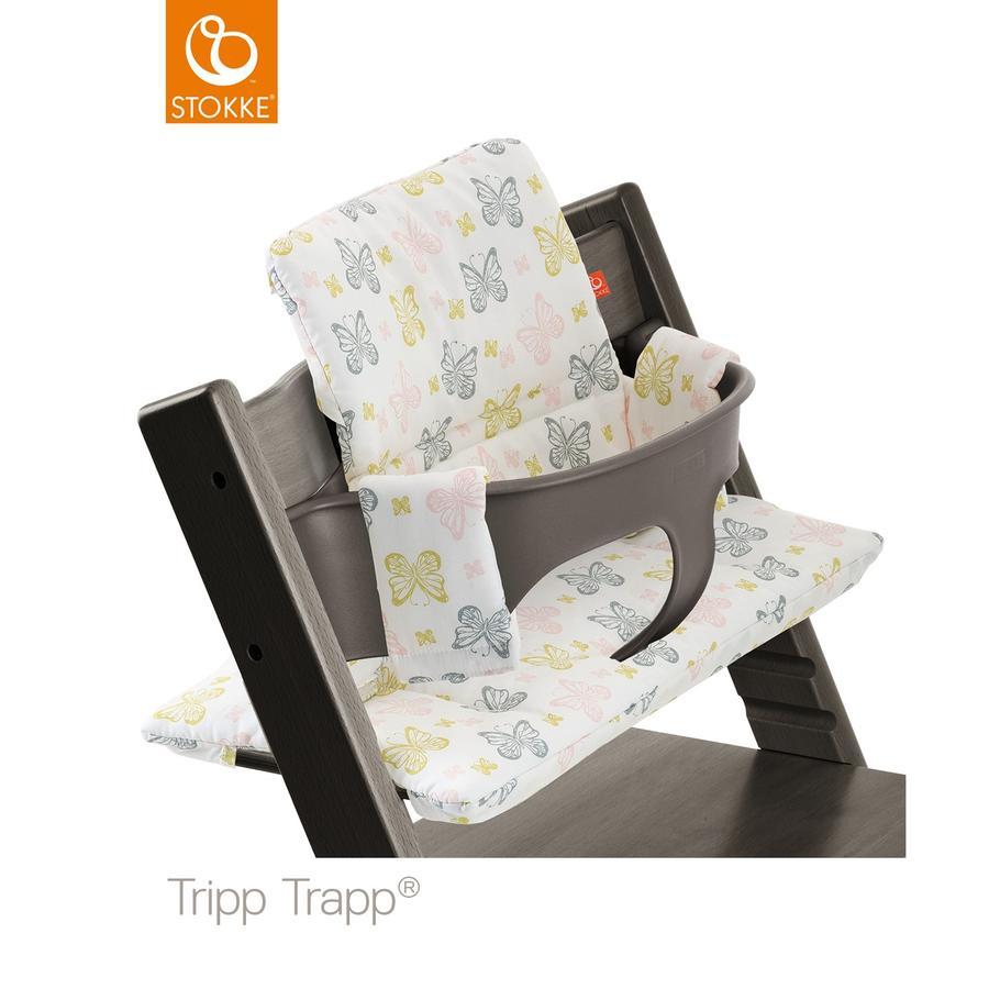 STOKKE® Tripp Trapp® Classic Baby Sitzkissen Sweet Butterflies beschichtet