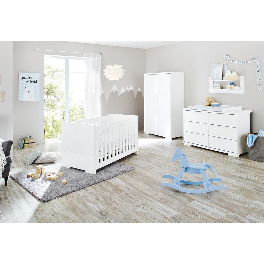 Pinolino Børneværelse Polar 2-dørs ekstra bred