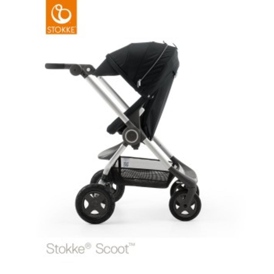 STOKKE® Scoot™ V2 Gestell Black inkl. Sonnendach Black
