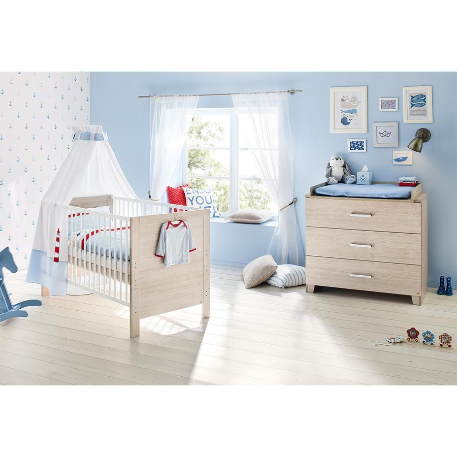 pinolino ensemble lit b b commode langer bolero. Black Bedroom Furniture Sets. Home Design Ideas