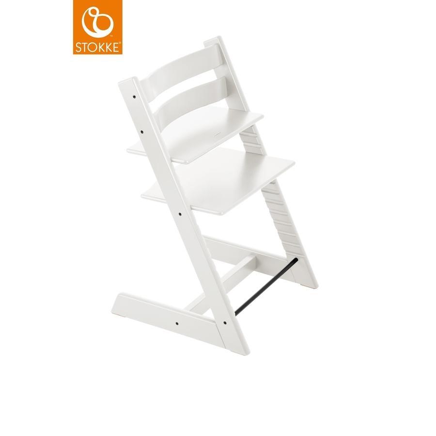 stokke tripp trapp hochstuhl buche wei. Black Bedroom Furniture Sets. Home Design Ideas