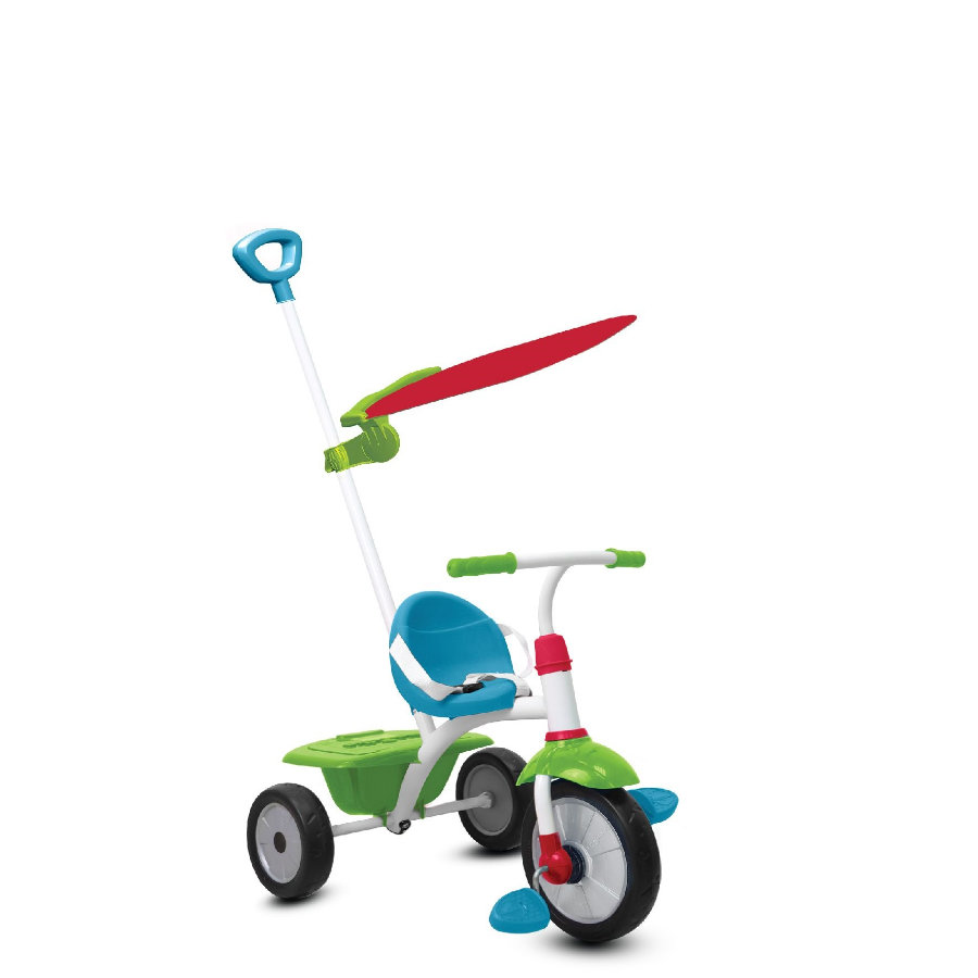 smarTrike® Tricycle Fun Plus, bleu/vert
