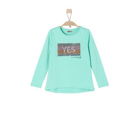 s.Oliver Girl s shirt met lange mouwen mintgroen