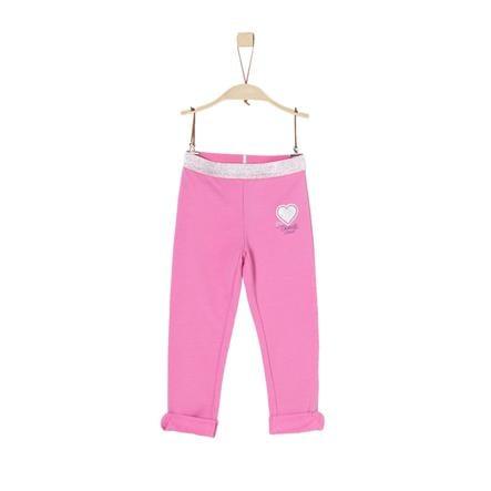 s. Oliver tyttöjen Leggings vaaleanpunainen