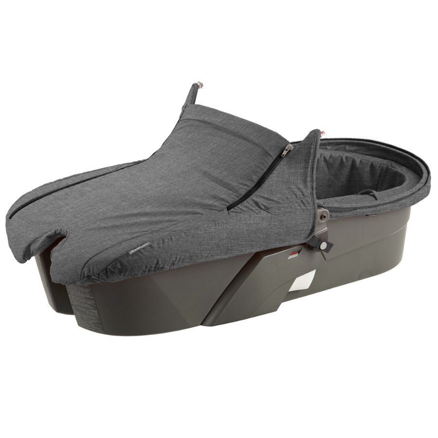 STOKKE® Xplory Style Kit für Babyschale Black Melange