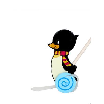 HESS Drewniana zabawka do pchania Pingwin Konrad