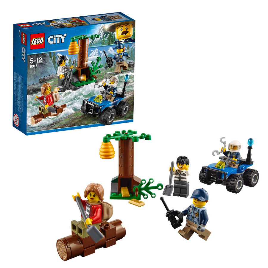 LEGO® City - Fuga in montagna 60171