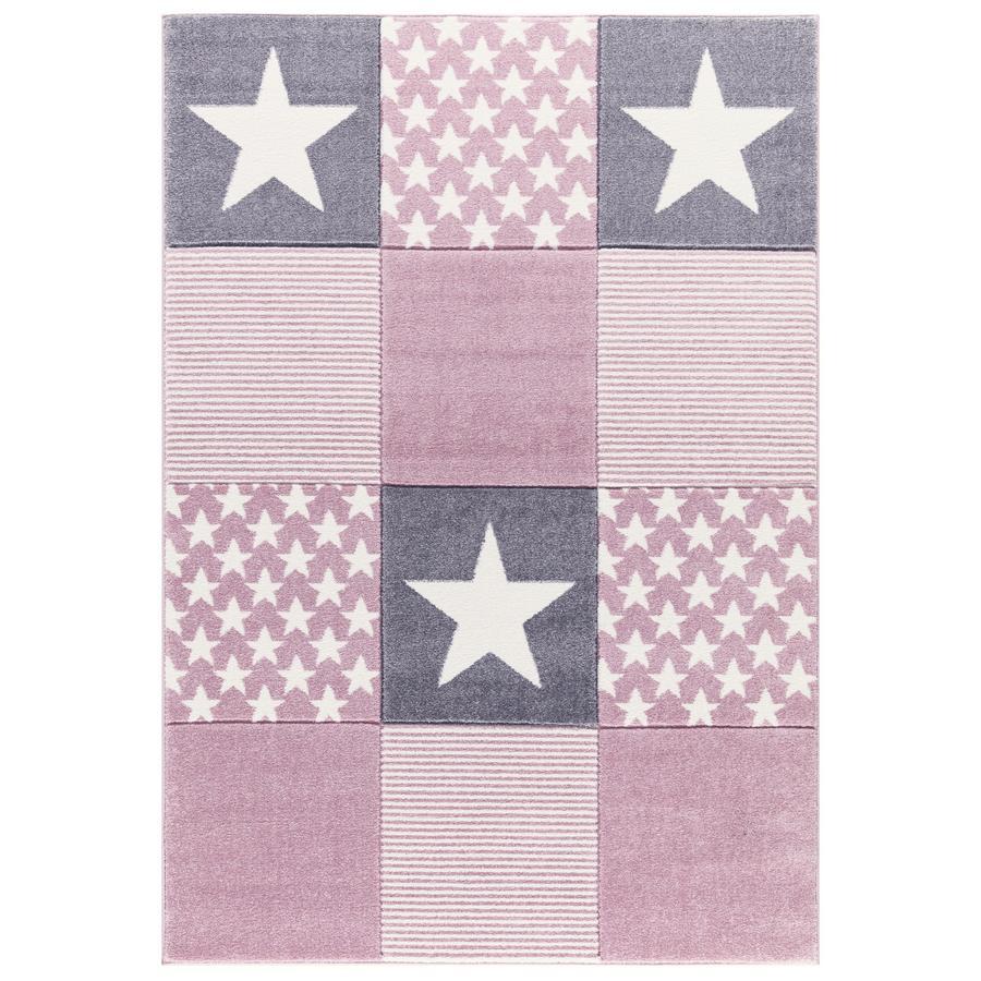 LIVONE Tapijt Happy Rugs Starwalk 3, rosa 120 x 180 cm