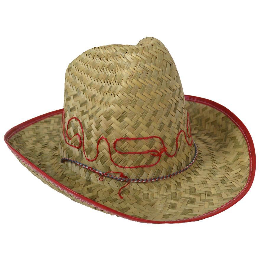 Funny Fashion Chapeau de paille Cowboy