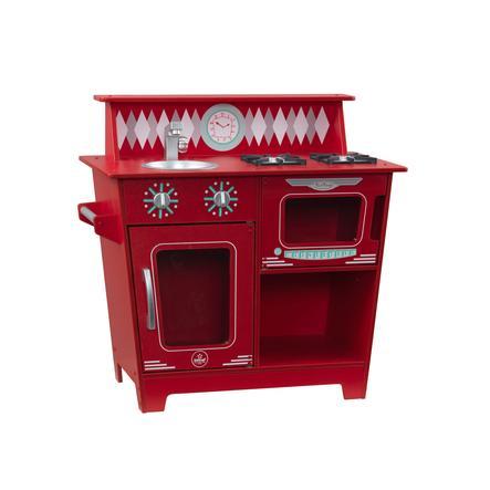 KidKraft® klasická kuchyňka červená